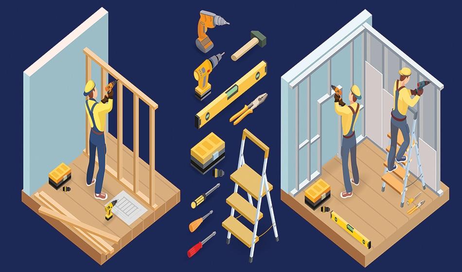 Non Load Bearing Timber Stud Partition Walls A