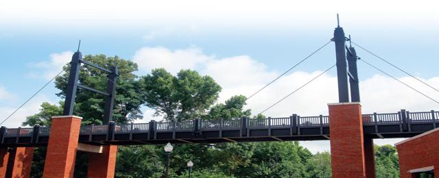 First Composite Suspension Bridge at the University of Tennessee  AnchorFRP – The Logical Material of Choice