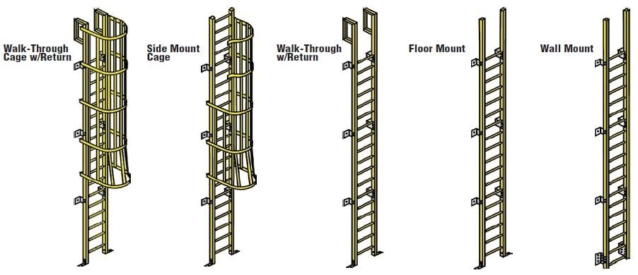 fiberglass ladder options