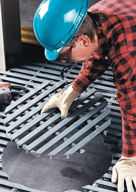 DURAGRID® and DURADEK® high strength pultruded bar type gratings from Strongwell