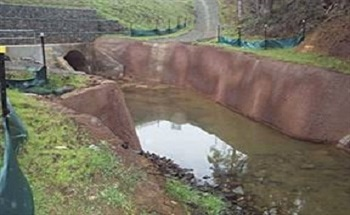 Retaining Walls, Roads and Erosion Control Systems Constructed from Recycled Tyres