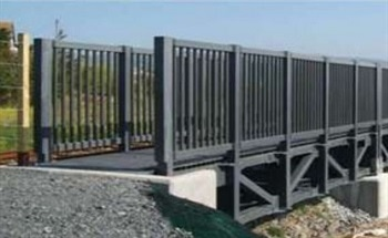 Lightweight, Corrosion Resistant Fibreglass (FRP) Structural Components - Footbridge
