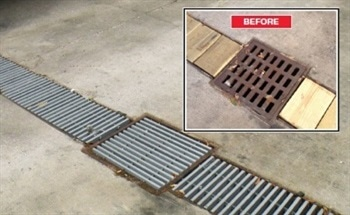 DURAGRID FRP Grating Offering a more Economical Alternative to Steel Grating