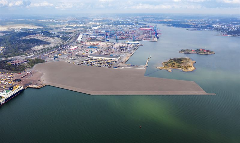 Peab Builds a New Port in Arendal in Gothenburg