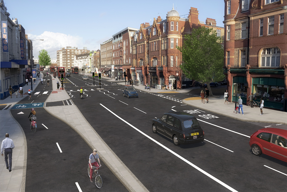 GHD Appointed by TfL to Support on Development of Designs for Cycle Future Route 15 to Help Transform Travel in London and Support the City's COVID-19 Recovery