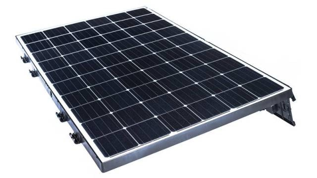 Beamreach Solar Introduces New Lightweight PV Solar Panel System for Flat Commercial Roofs