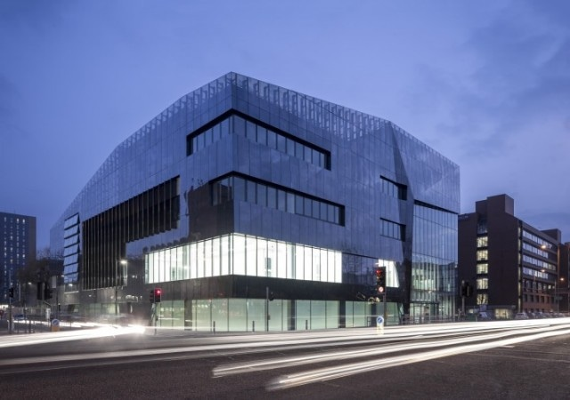 Manchester's National Graphene Institute Shortlisted for RIBA Stirling Prize for UK's Best Building of the Year