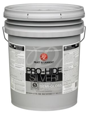 Pratt & Lambert Paints Launches Pro-Hide Silver 5000 for Professional Painting Contractors