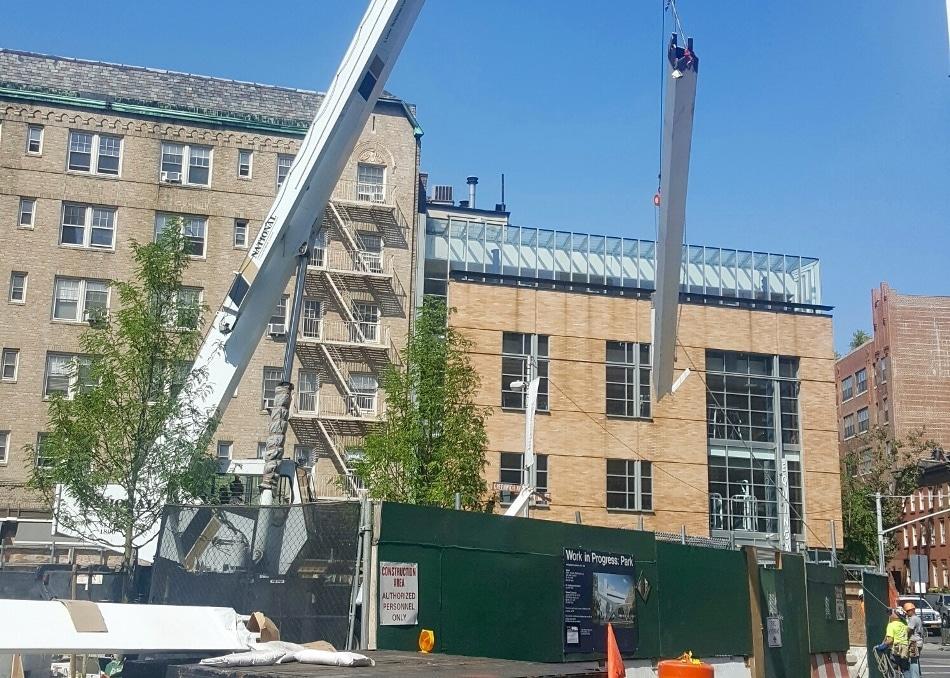 Construction Underway on New York City AIDS Memorial Park in West Village