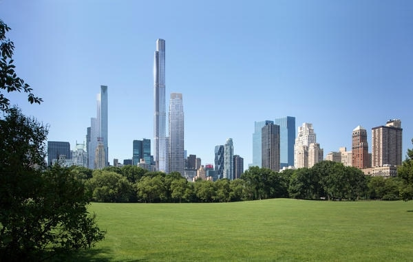 Extell and SMI Form Joint Venture to Co-Develop Central Park Tower in Midtown Manhattan