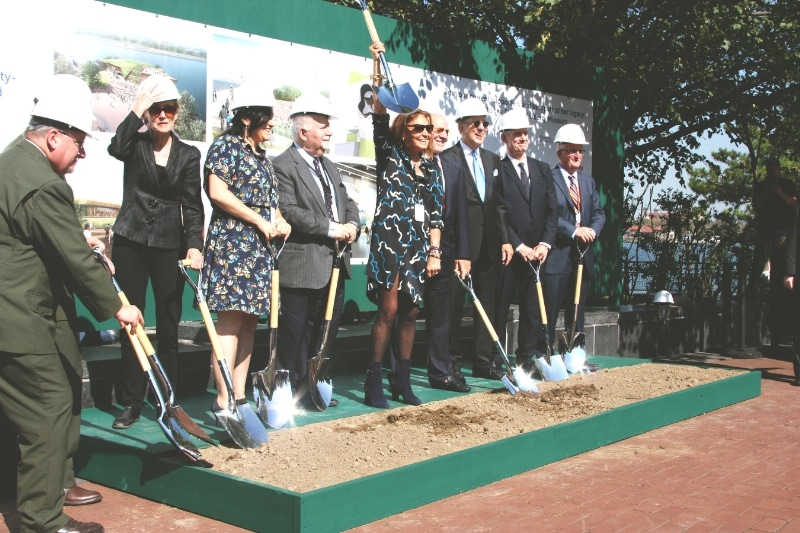 Phelps Construction Group Participates in Groundbreaking Ceremony for New Statue of Liberty Museum