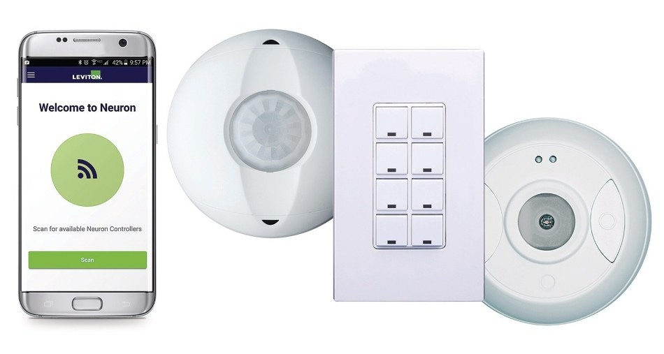 Leviton Announces Development of New Wireless Room Controller System and App