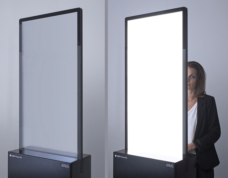 LightGlass' Patented ALED Privacy-Plus Technology Recognized with Coveted Architizer A+Award