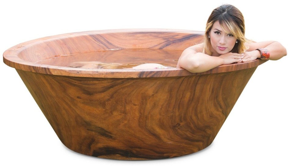Timber Neutral Makes Exclusive Solid Wood Bathtub