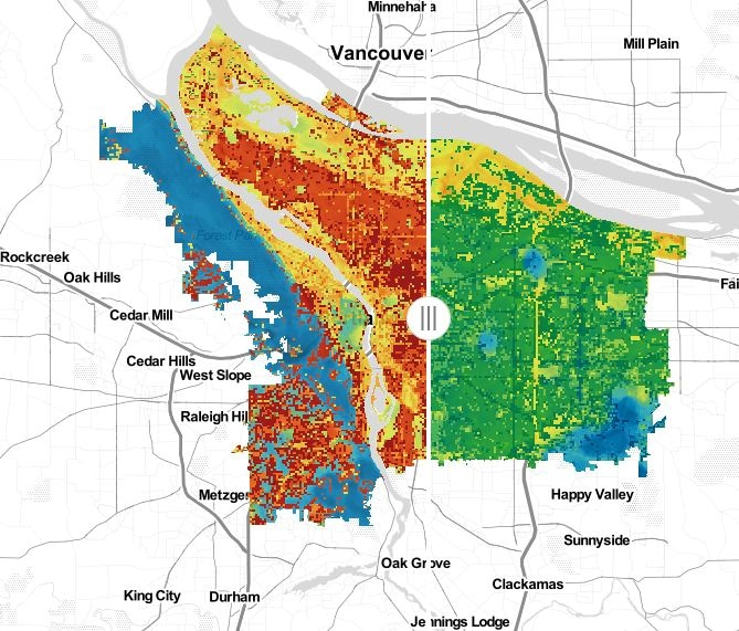 Portland State Study Demonstrates How Plants, Trees and Reflective Materials Can Reduce Extreme Heat in City Neighborhoods