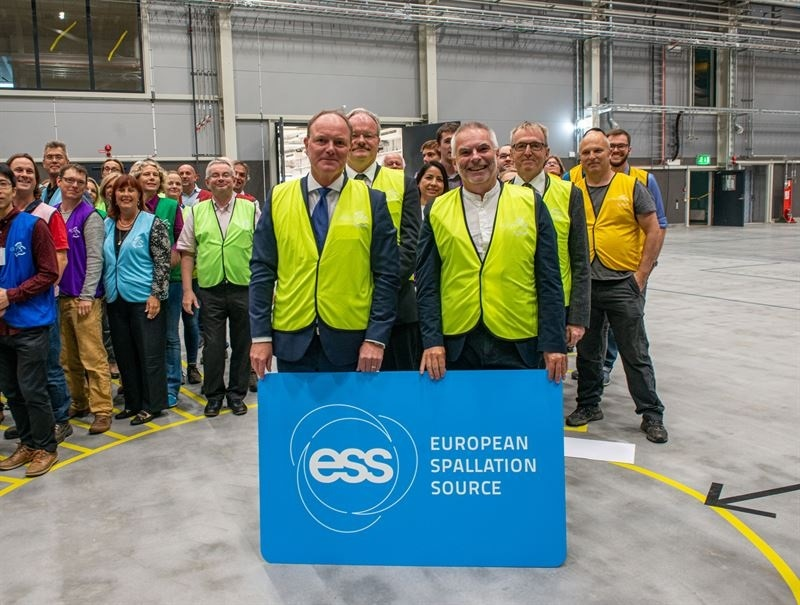 ESS initiates Installations in the Long Instrument Hall