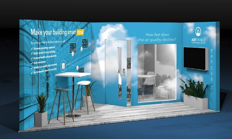 Airthings Launches New Healthy Building Solution at EXPO REAL to Make Your Building Smart Now