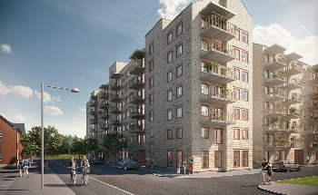 Peab Builds Apartments in Borås
