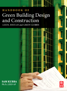 Elsevier Book: Handbook of Green Building Design and Construction, 1st Edition