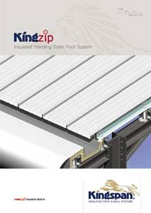 Kingspan Delivers Standing Seam Roofing Solution With Kingzip