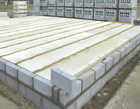 AZoBuild - Building Technology - Celcon Aircrete Products being used in florring systems