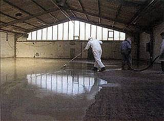 AZoM : Architectural Concrete – self-smoothing floor screed